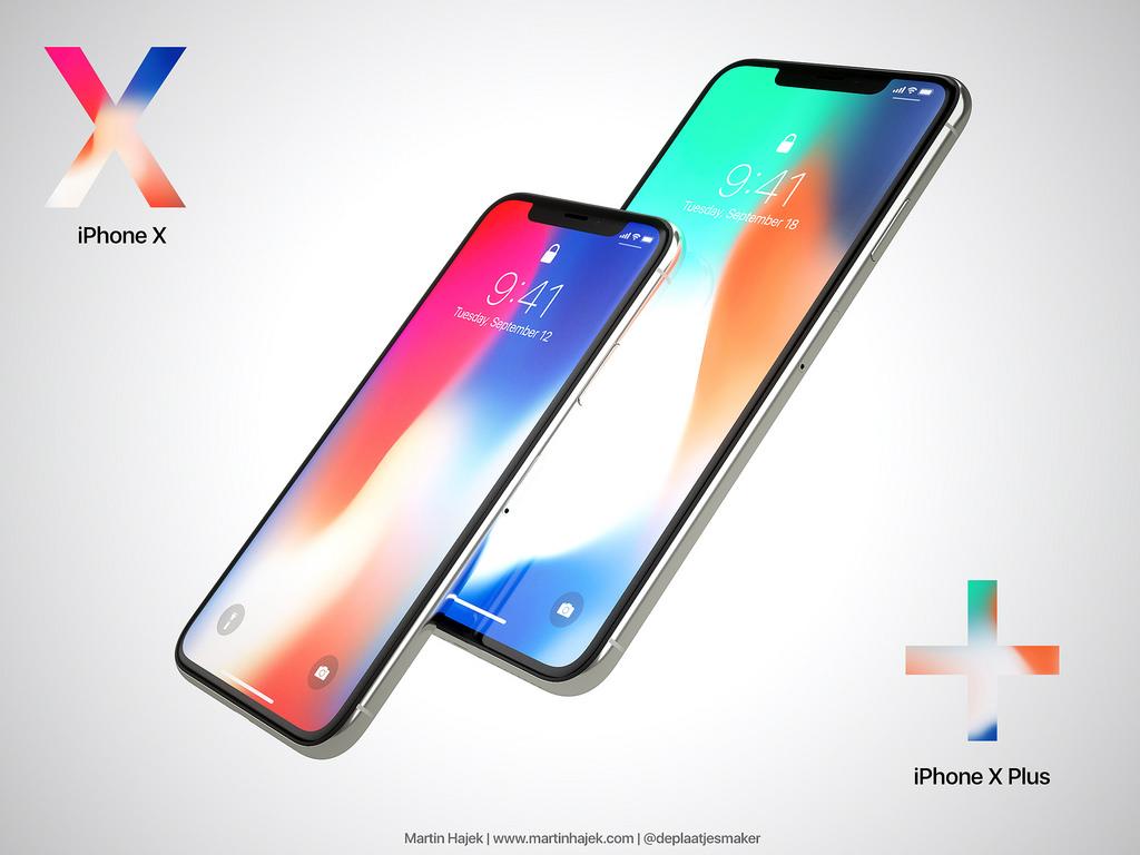 Kan Apple klare å presse inn nesten et 7 tommer stort panel inn i en mobil som ikke blir særlig mye større enn iPhone 8 Plus?