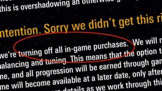 EA og Dice gjør (en midlertidig) helomvendig med «Battlefront II»