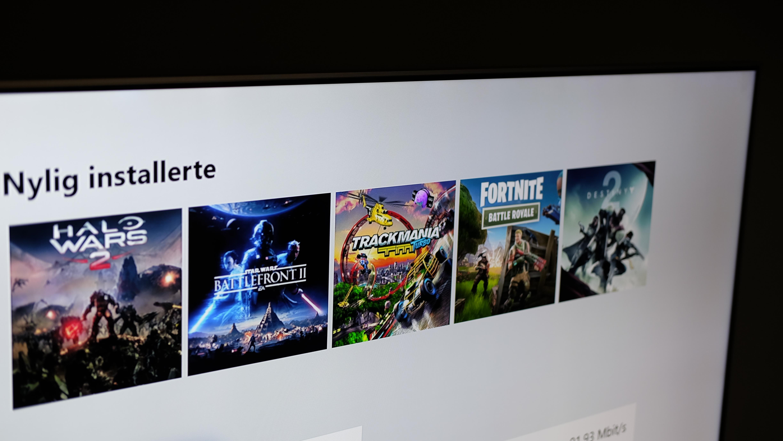 Endelig hvitt tema på Xbox One.