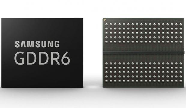 Samsung annonserer GDDR6-minne.