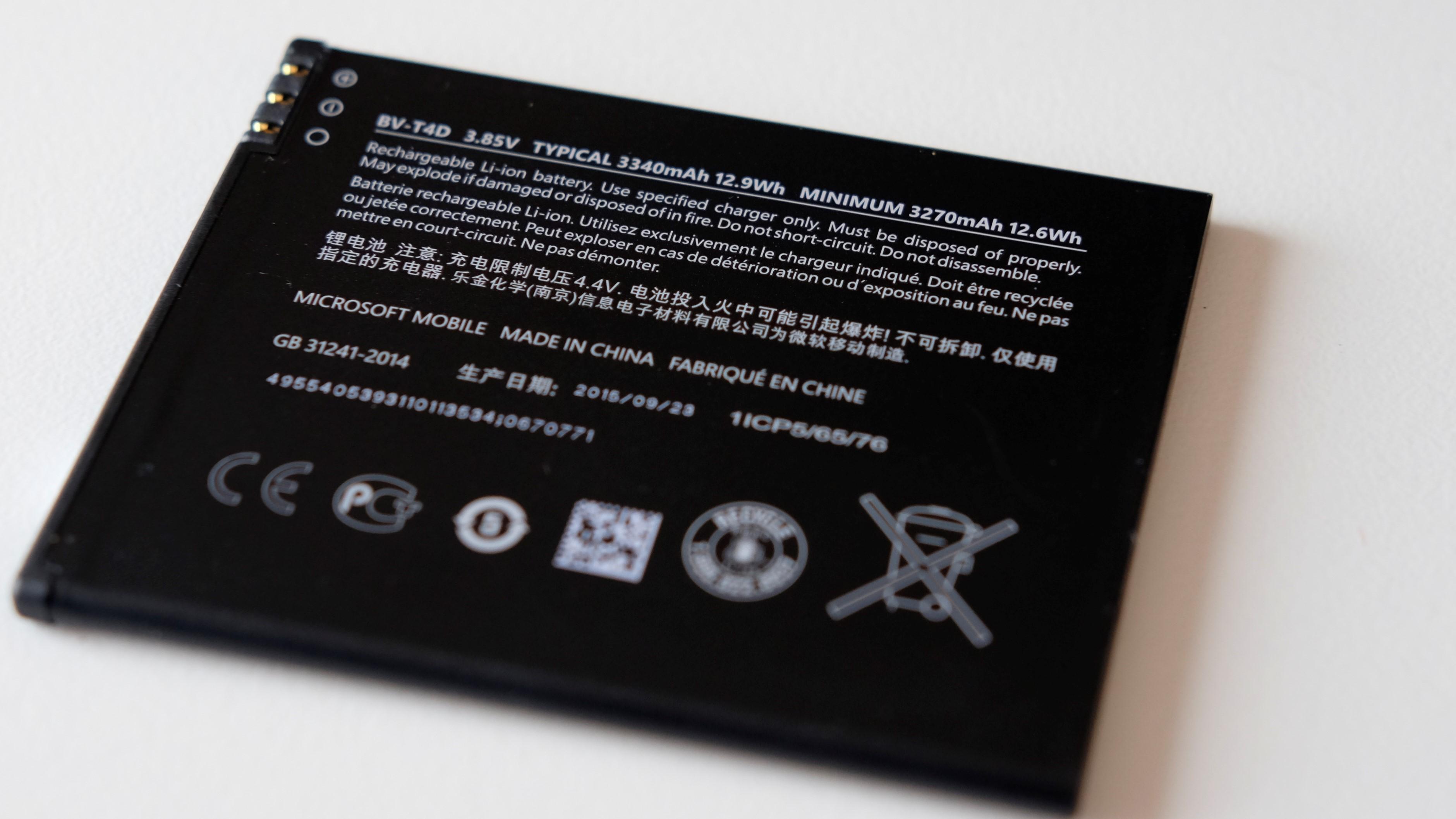 Samsung forsker på en ny type batteri. Illustrasjonsfoto.