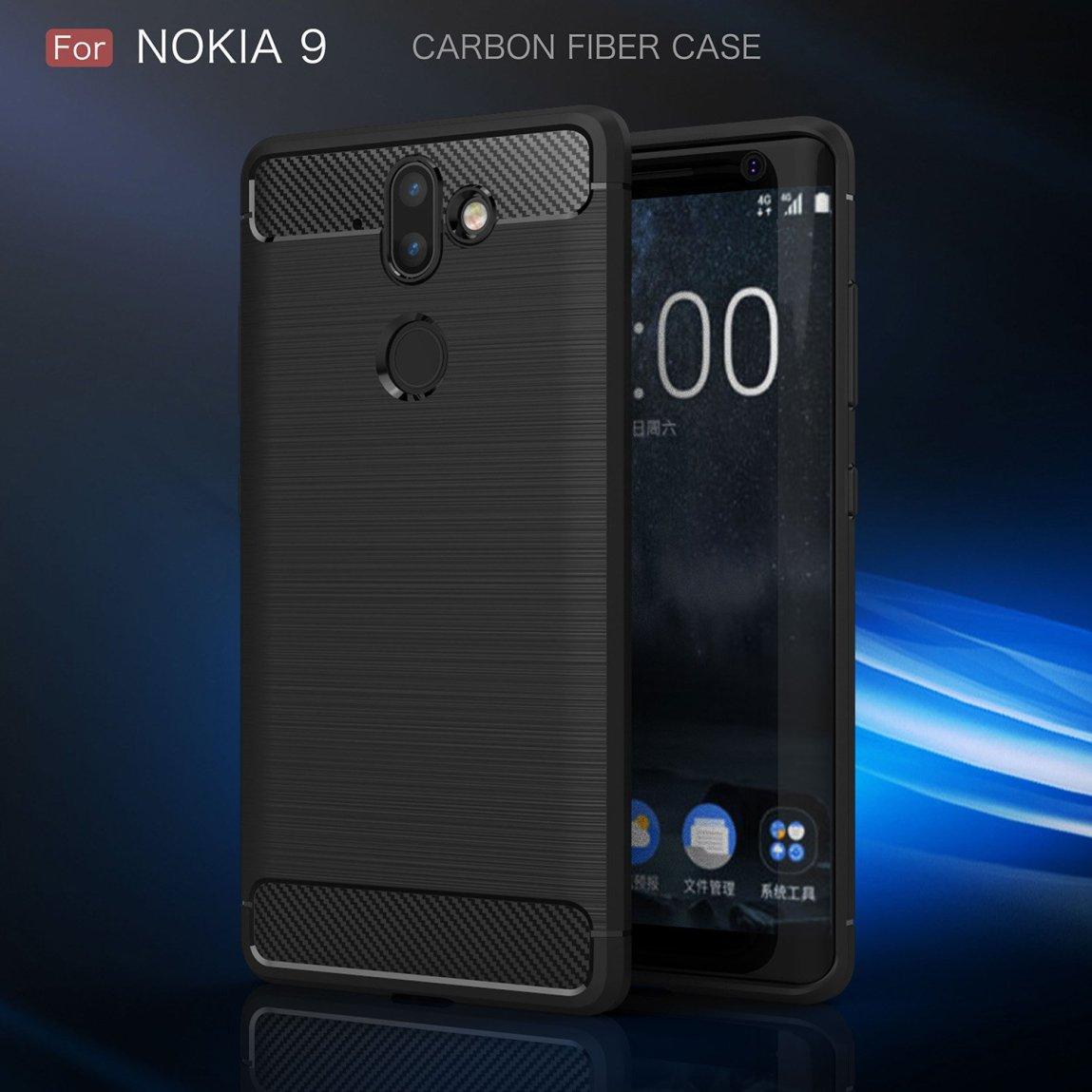 Nokia 9 med deksel.