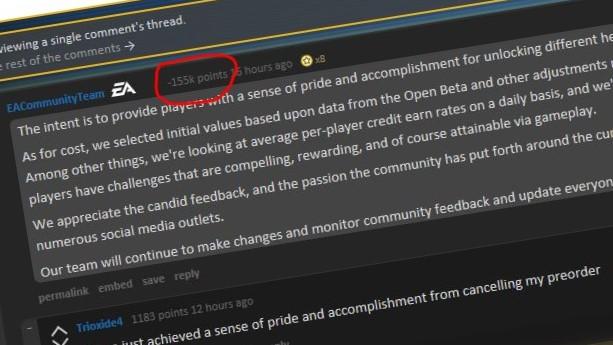 Dette svaret fra EA falt ikke i god jord blant spillerne.