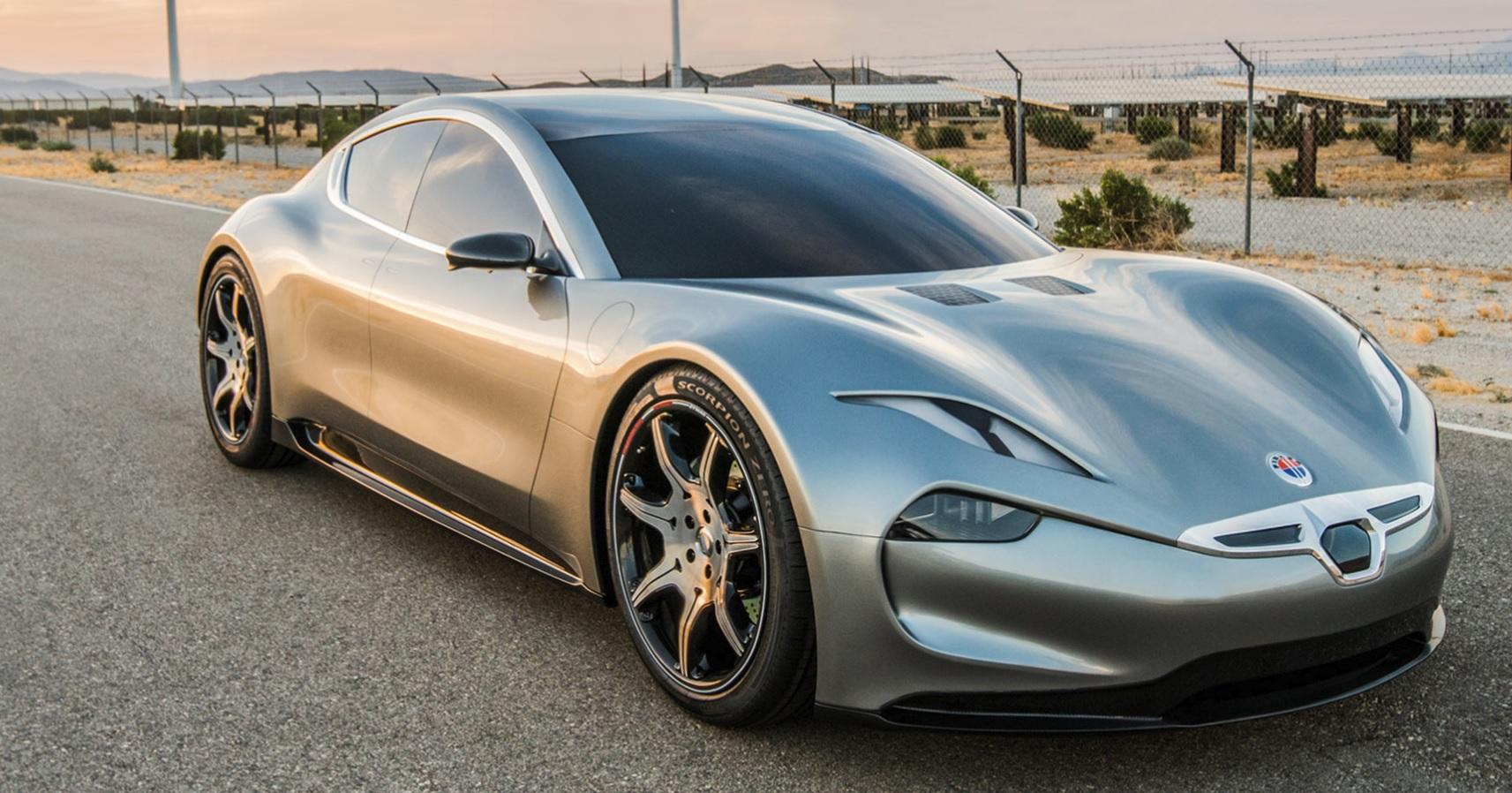 Fiskers bil, Emotion, lanseres snart, men med li-ion-batteripakke.