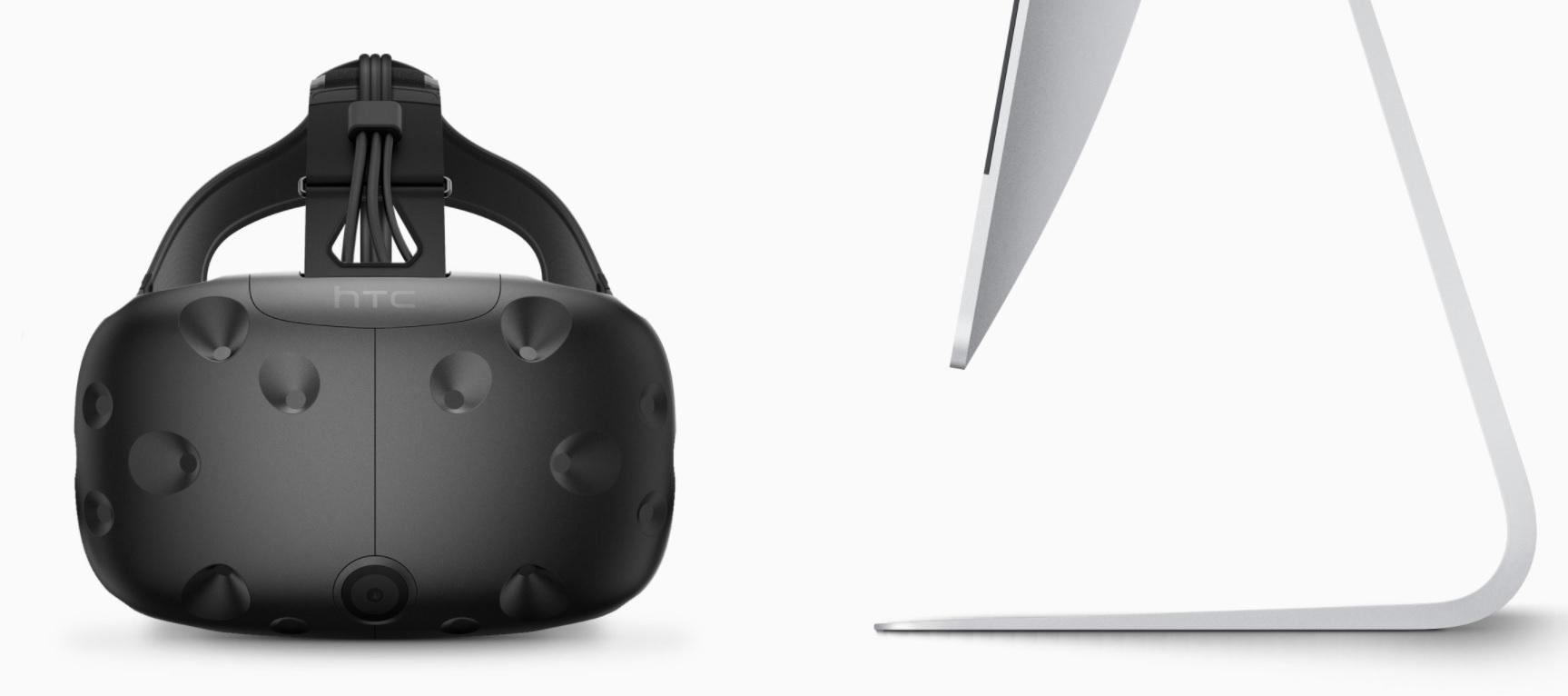 VR er riktignok støttet i nye macOS High Sierra, men det er ikke det Apples hjerte banker for.