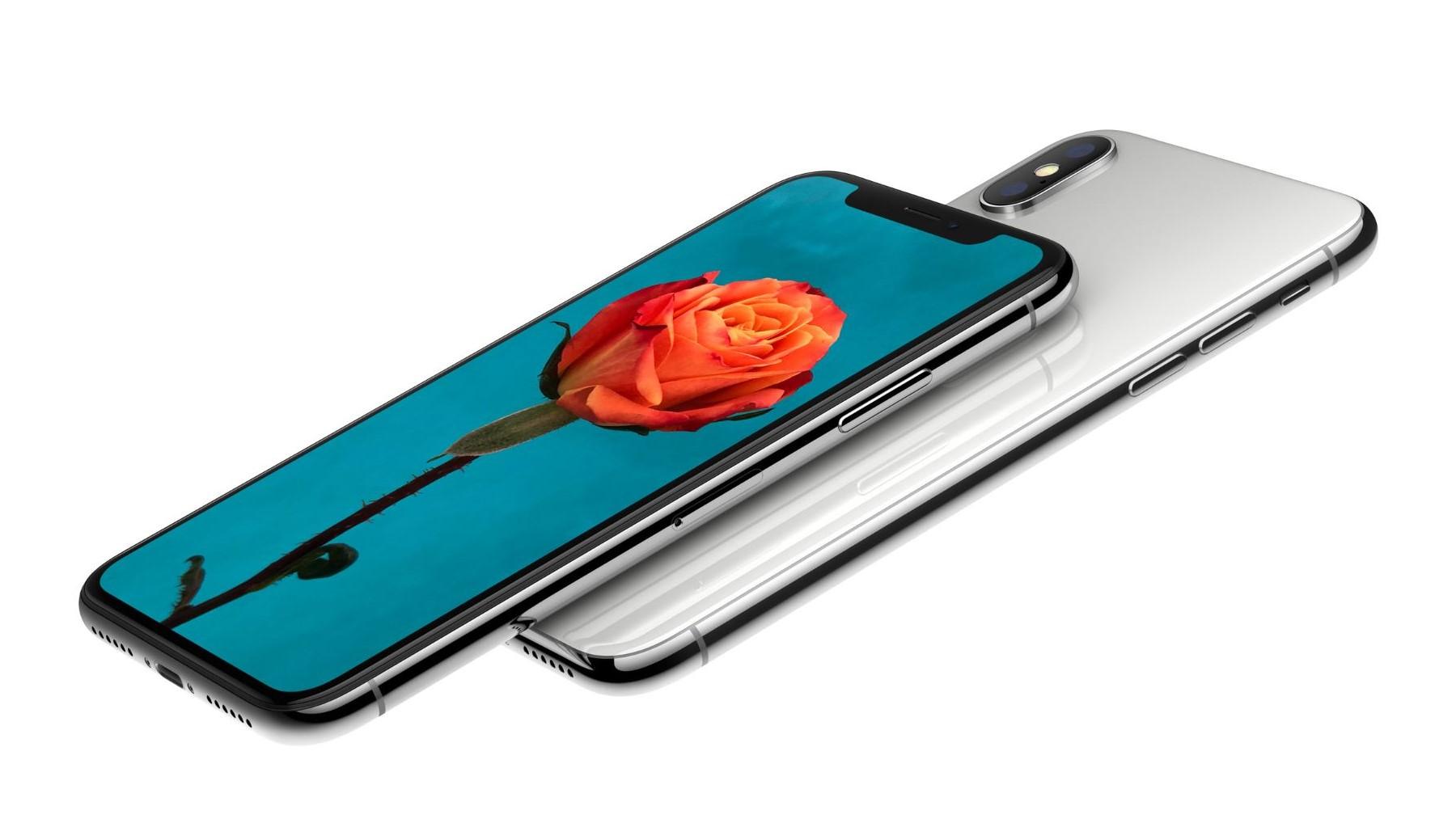 iPhone X sliter i kulden.