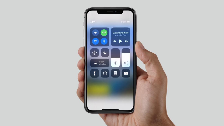 iPhone X-skjermen har støtte for 120 Hz-inndata.