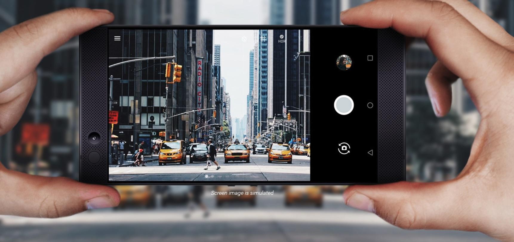 Vi er glade Razer har planer om å forbedre kamerakvaliteten.