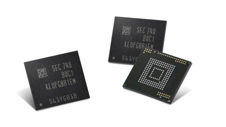 512 GB-lagringen kan bli å finne i komme smarttelefoner fra Samsung.