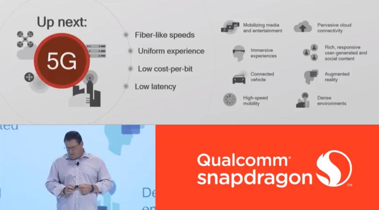 5G vil gjøre trådløs netttilkobling like vanlig som strøm, ifølge Qualcomm. Alle IoT-enheter vil kobles til nettet med 5G.