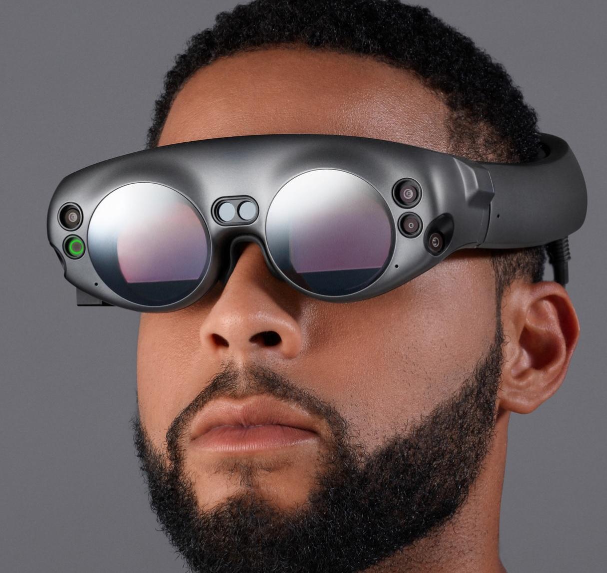 Dette er Magic Leaps AR-briller.