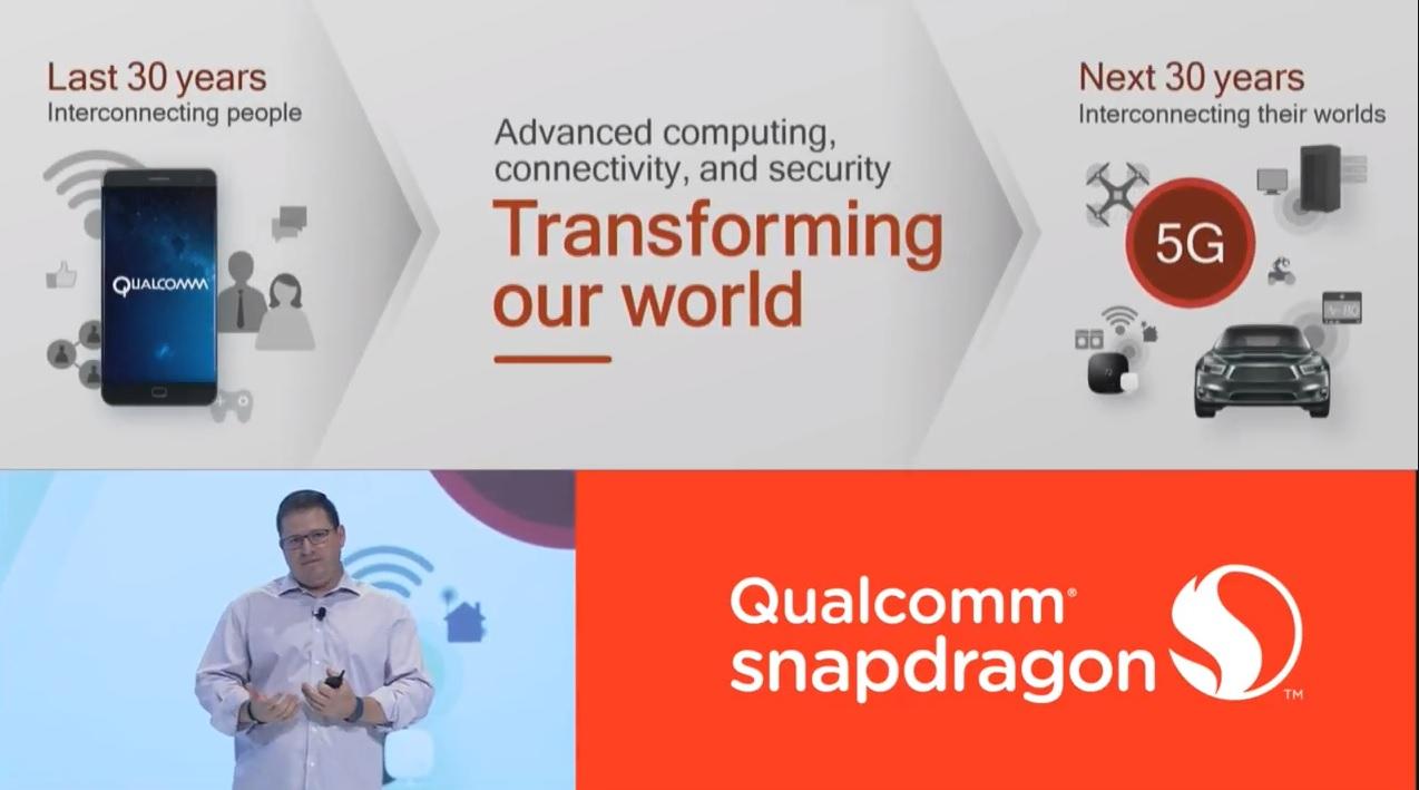 5G er en av tingene Qualcomm skal snakke om i kveld.