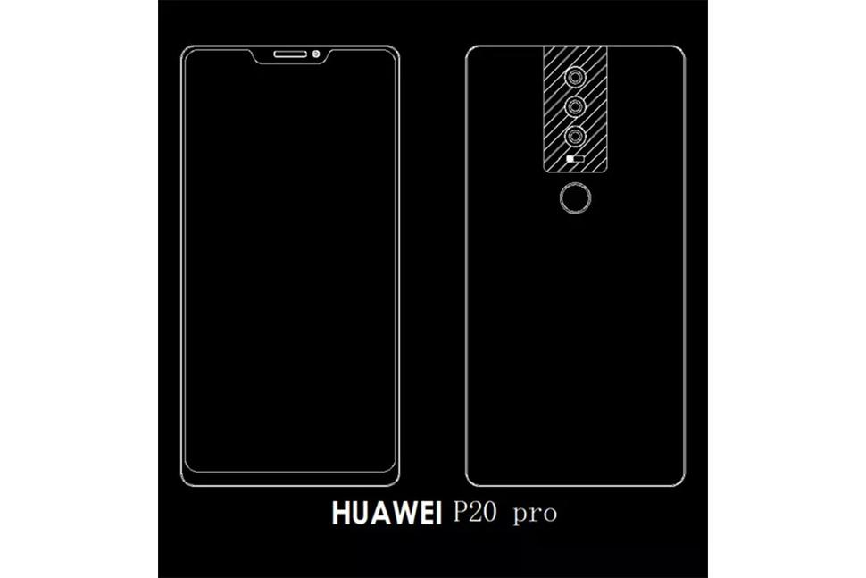 Huawei P20 Pro kan bli toppmodellen med Face ID-liknende teknologi.