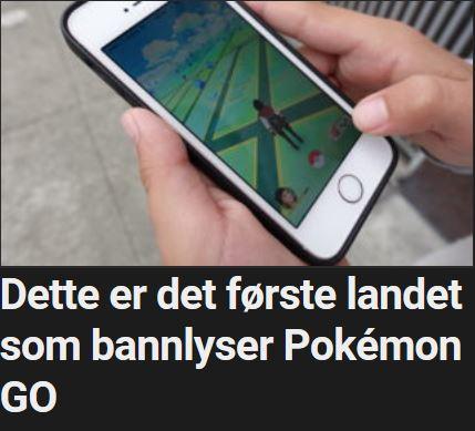 Iran var raskt ute med å blokkere Pokémon Go,