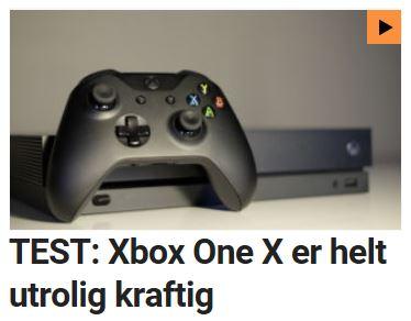 Vi tester Xbox One X.