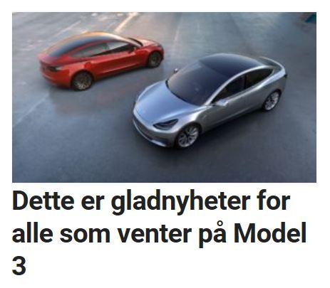 Venter du på Tesla Model 3?