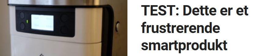 Vi tester smartkaffetrakteren Smarter Coffee.