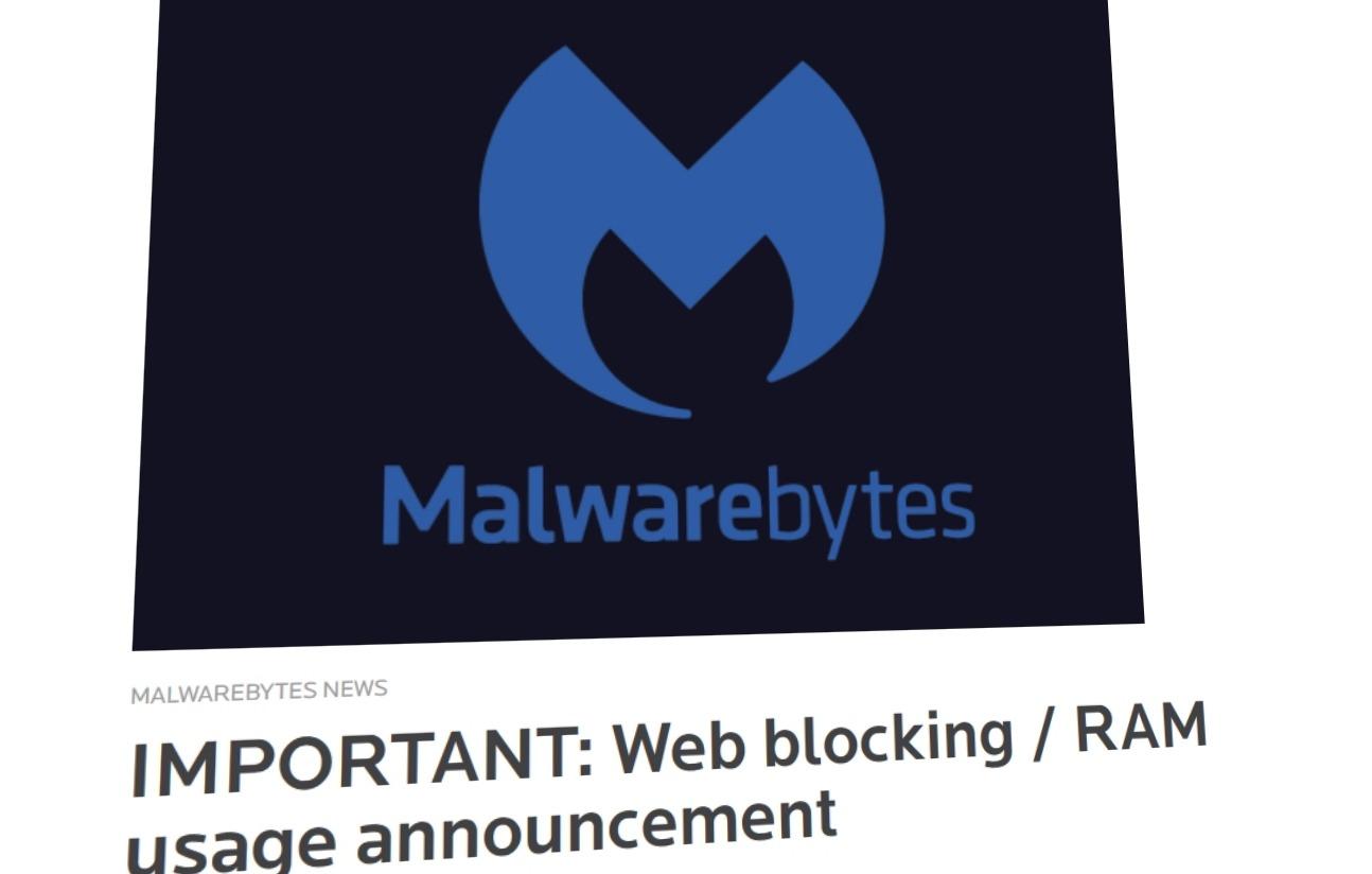 Malwarebytes rota det til, men har heldigvis en feilretting klar.
