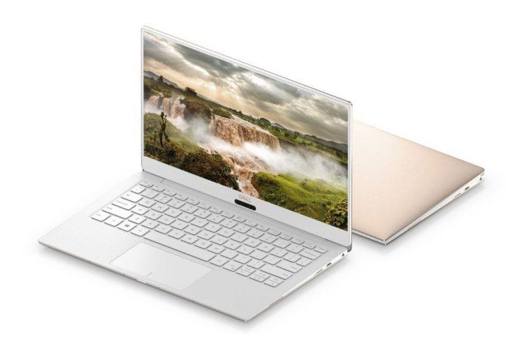 Dell XPS 13 kommer nå i hvitt og gull.