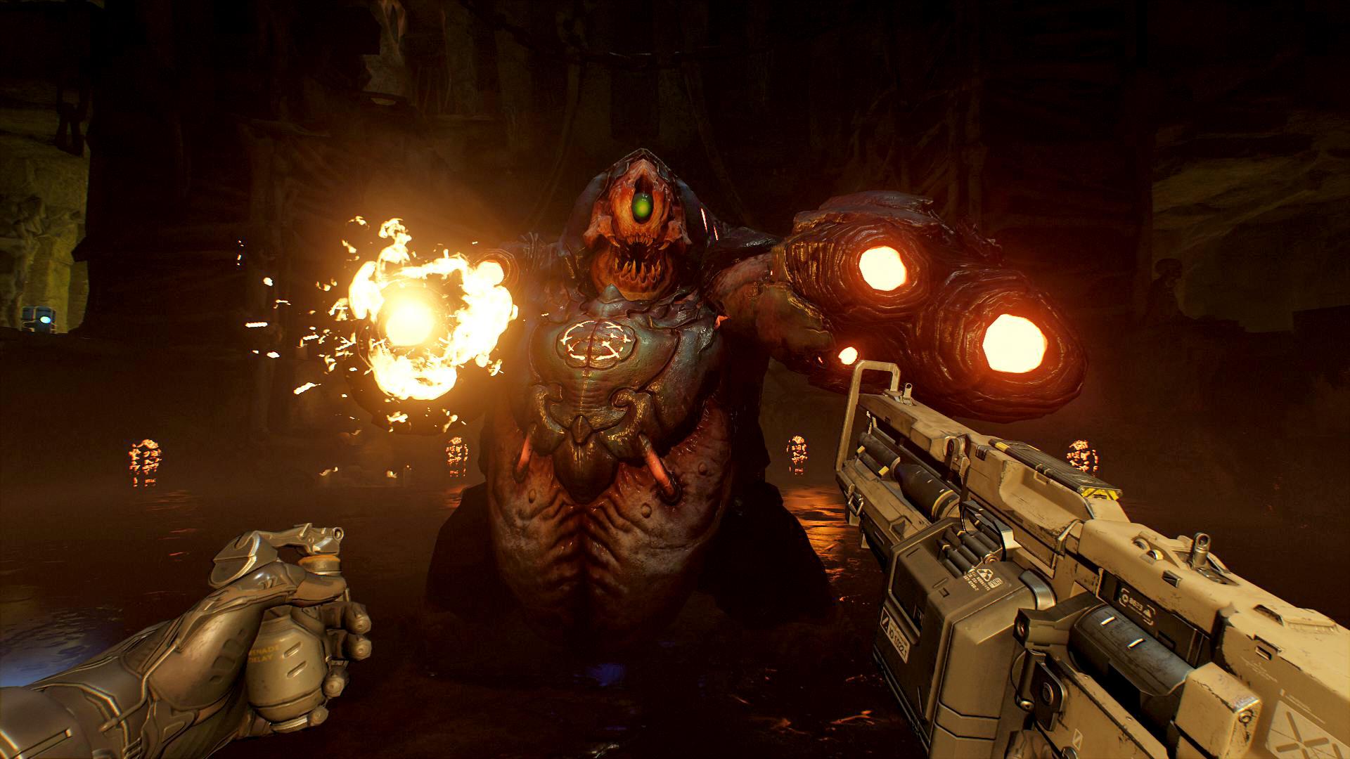 Det er mindre kult enn vi hadde håpet på å skyte med PS Aim, men Doom VFR er i det minste god underholdning, men mest takket være den geniale omstarten av serien i 2016, og minst grunnet VR.