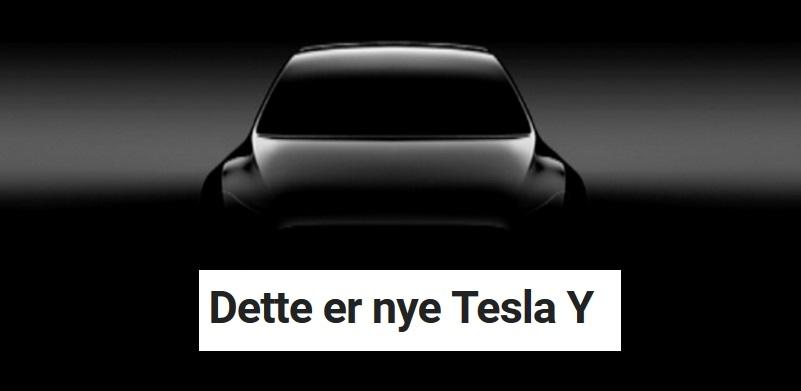Tesla skal produsere sin helt nye bil i mars 2020