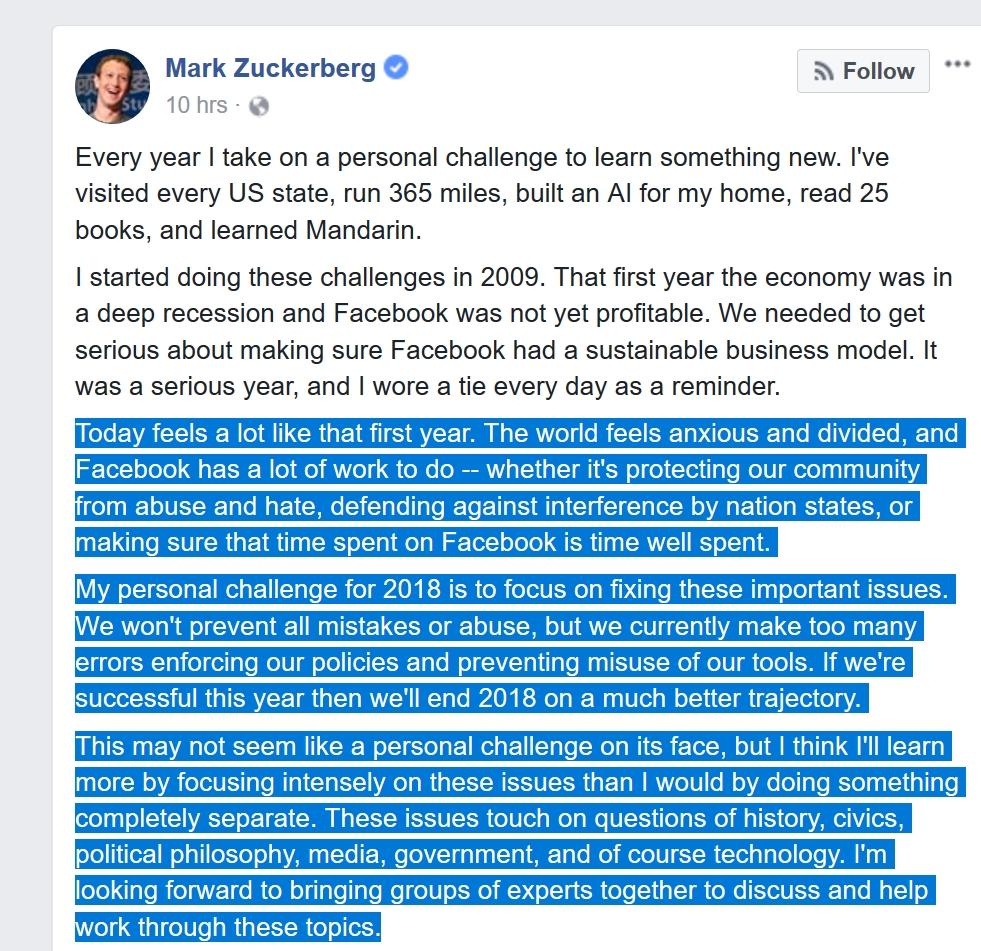 Mark Zuckerberg fremstår som folkevalgt, men du behøver ikke gjøre annet enn å droppe produktet hans, ikke stemme eller overtale andre, for å få tiden din tilbake. Tør du tenke på hvor mange minutter du kaster bort hver dag?