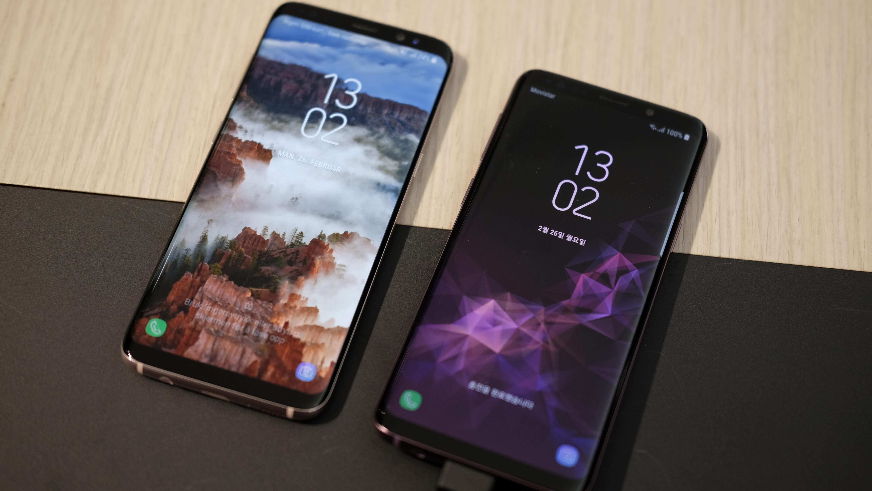 Her er forskjellene på Galaxy S8 og S9