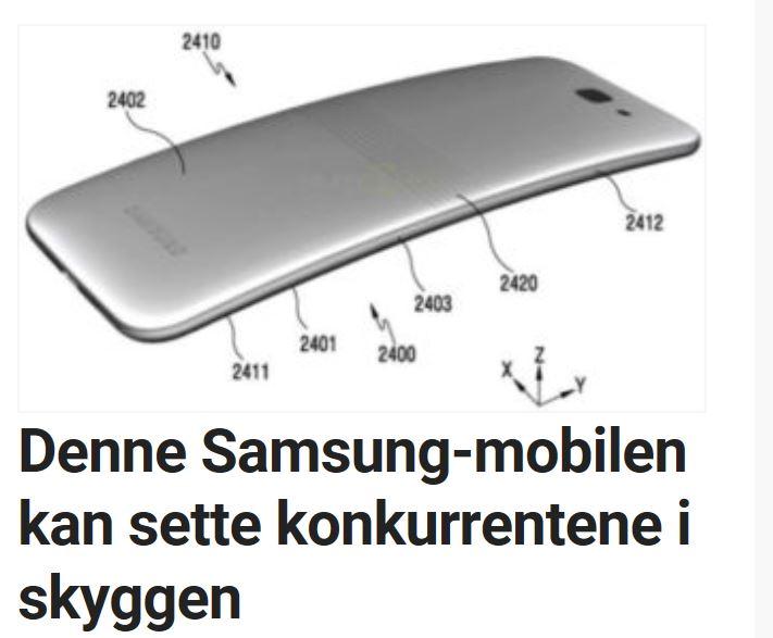 Det er ingen tvil om at Samsung jobber med en spesiell enhet.
