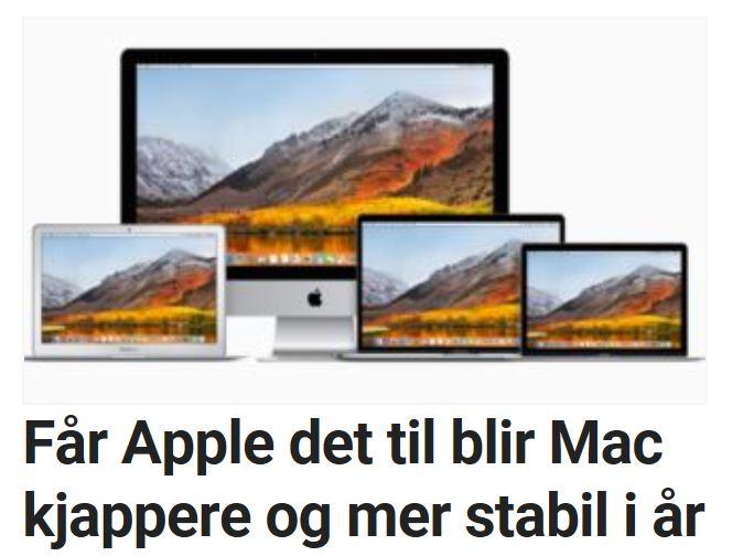 To spennende funksjoner på vei til Mac.