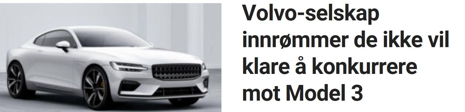 Volvo og Polestar utsetter og øker prisen.