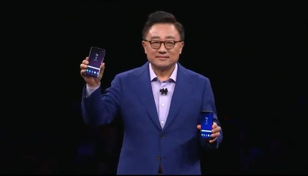 Her er de: Galaxy S9 og S9+.