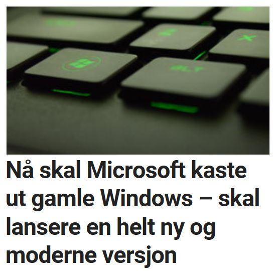 Dette er Windows Polaris.