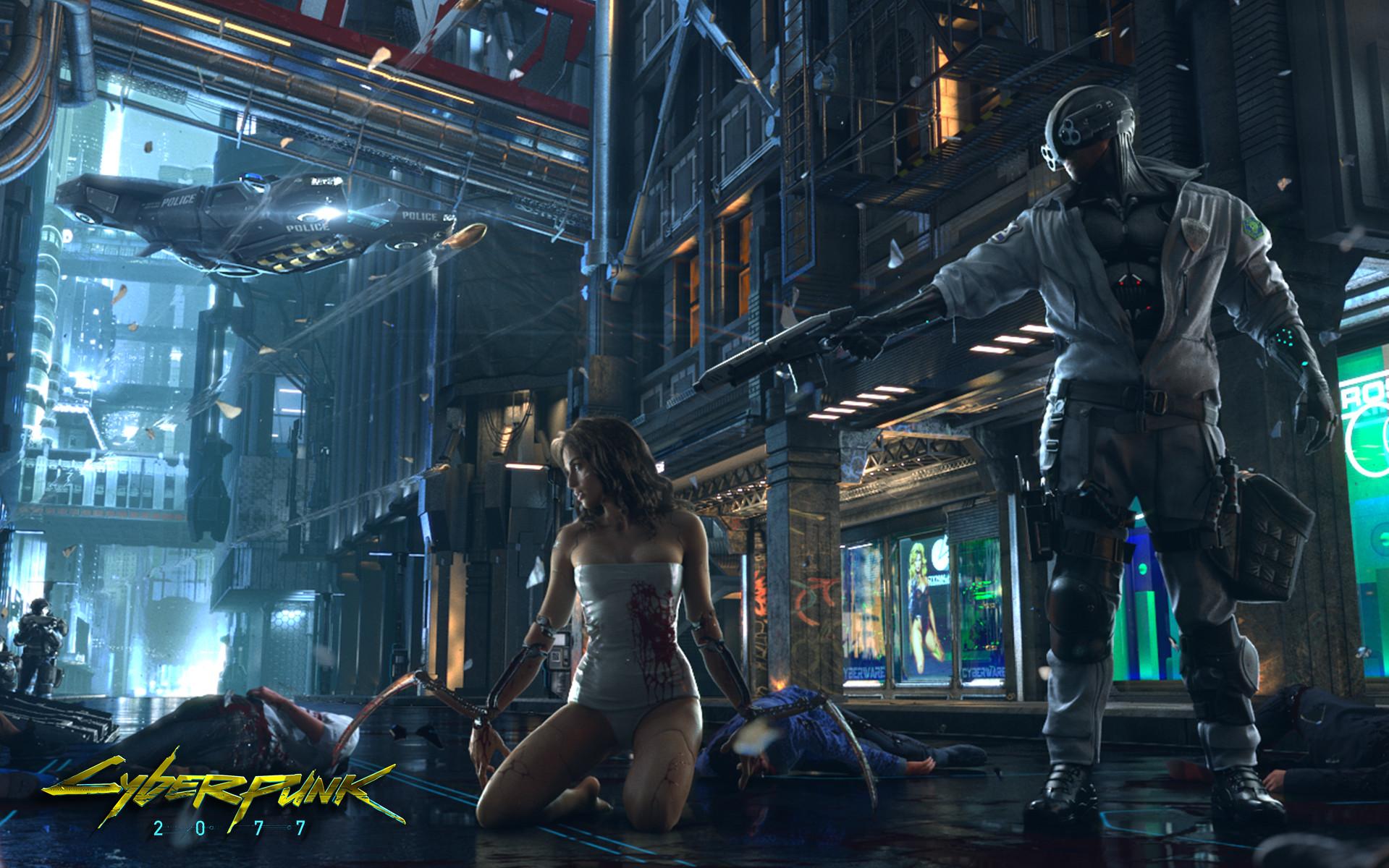 Cyberpunk2077-utvikler CD Projekt RED bekreftes til Gamescom.