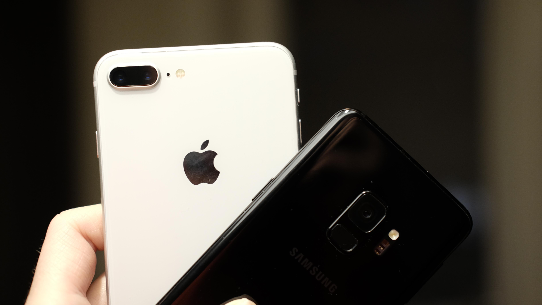 iPhone 8 Plus og Galaxy S9 møtes til kameradyst.
