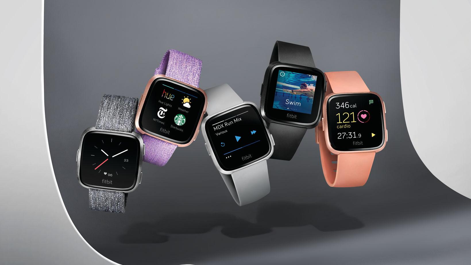Fitbit avduker en ny serie med smartklokker.