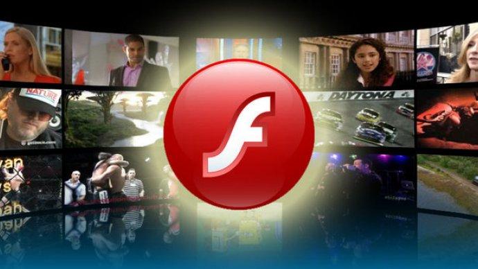 Flash-bruken går ned.