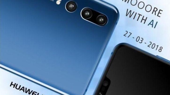Er det slik Huawei P20 Pro blir med tre kamerasensorer.