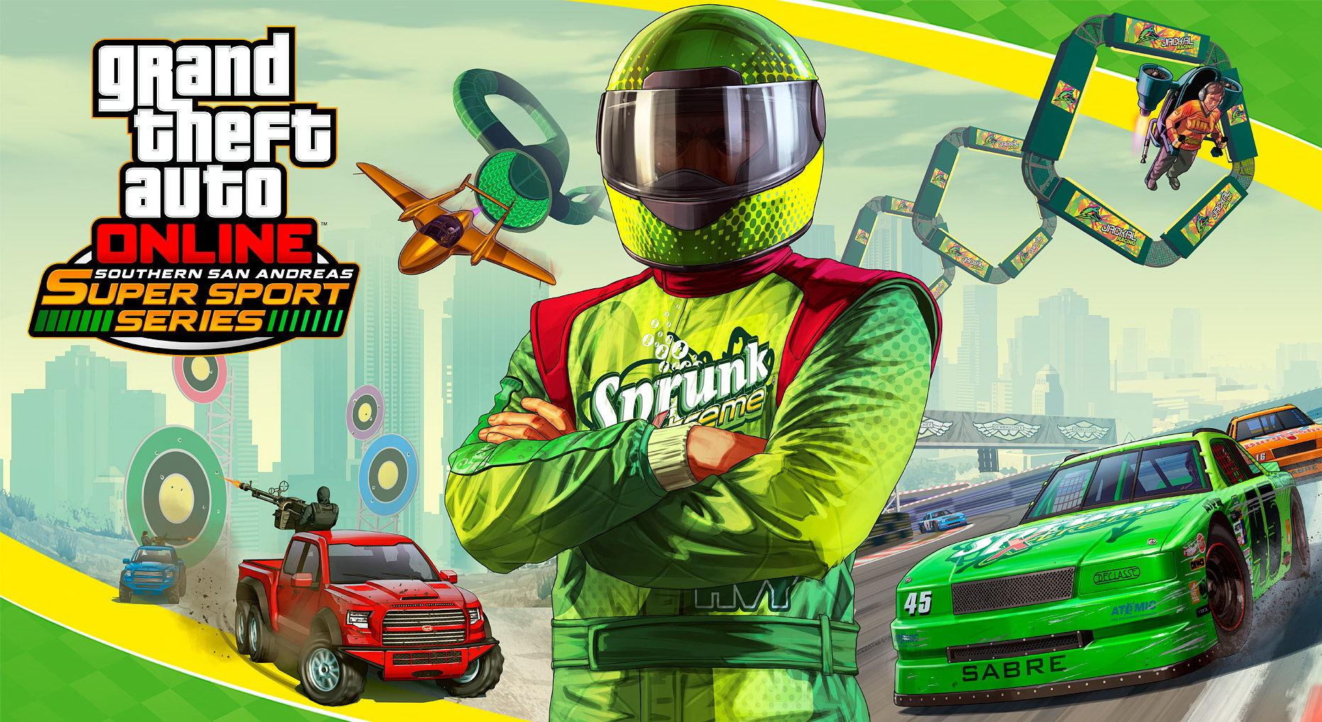 Gjør deg klar for ellevill racing i de kommende oppdateringene til GTA: Online.