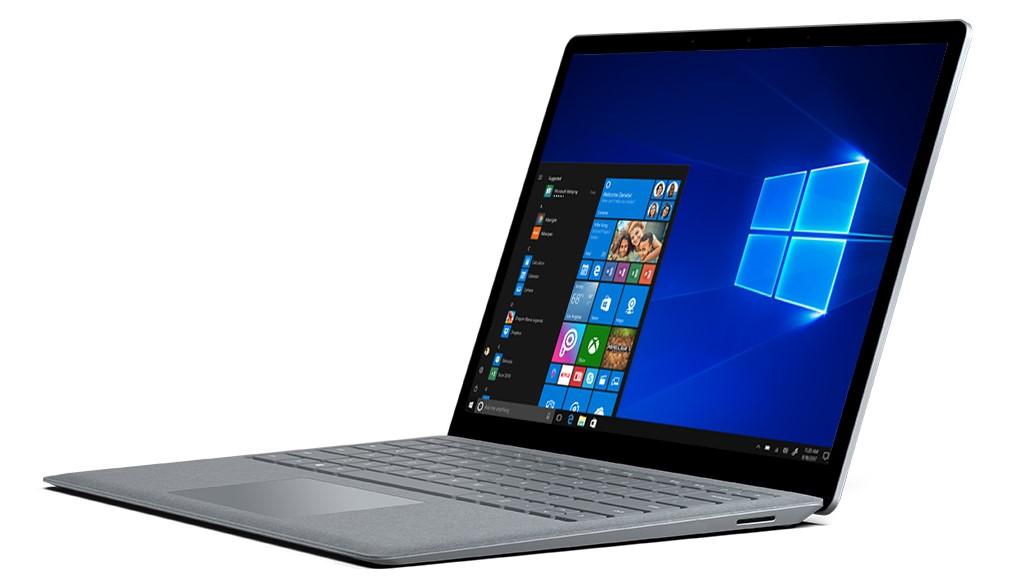 Surface Laptop er en av PC-ene som leveres med Windows 10 S.