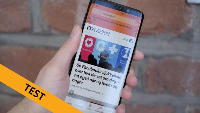 Samsung Galaxy S9 blir en av årets beste smarttelefoner.