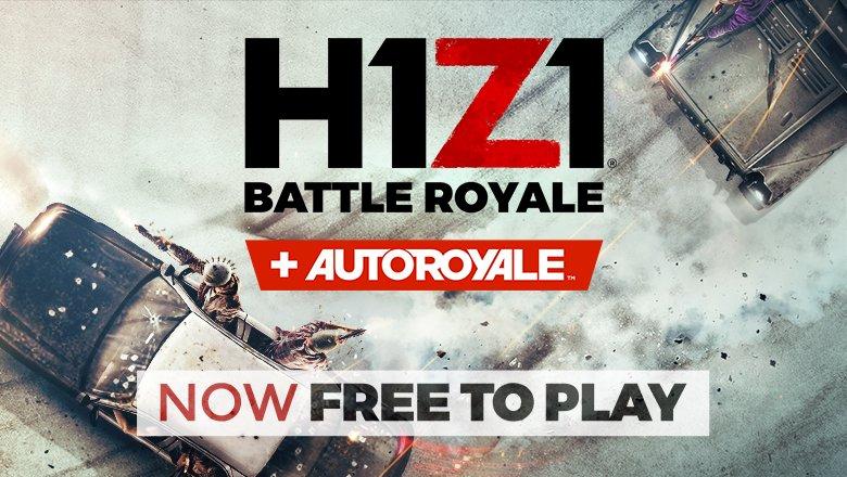 H1z1 er nå helt gratis å spille.