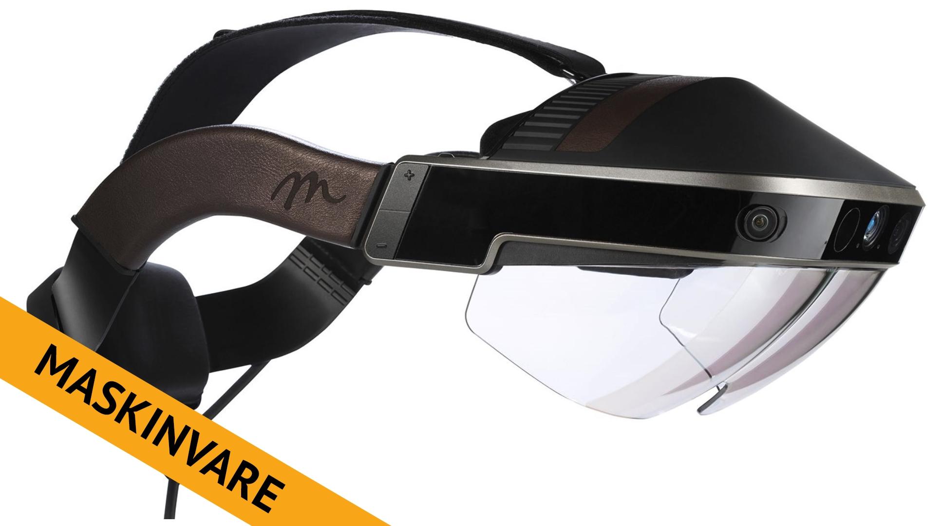Meta 2 er en av de minst kjente AR-produktene i massemarkedet, men veldig spennende.