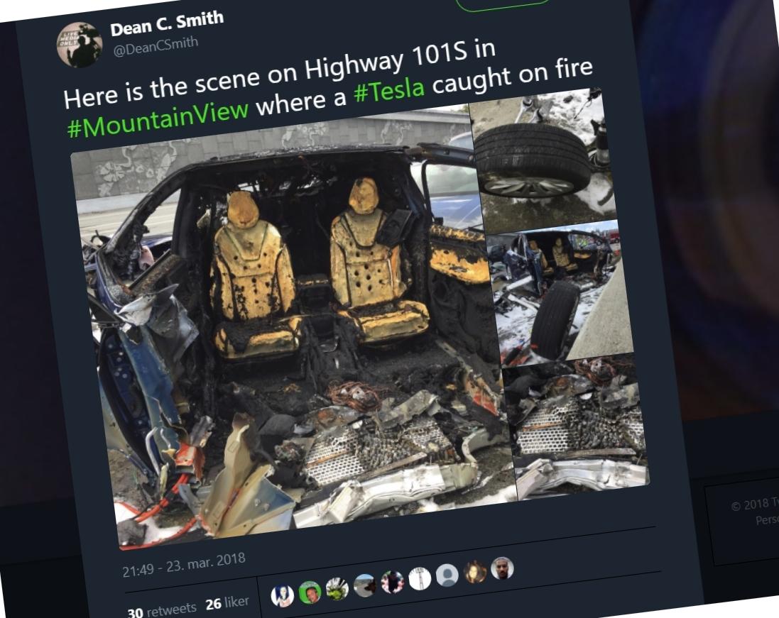 Tesla X-sjåfør døde i krasj - nå undersøker de batteriet i bilen