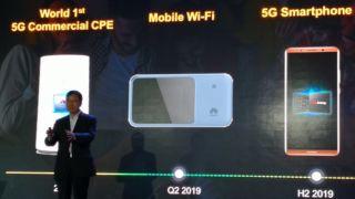– Vår første 5G-mobil kommer i 2019