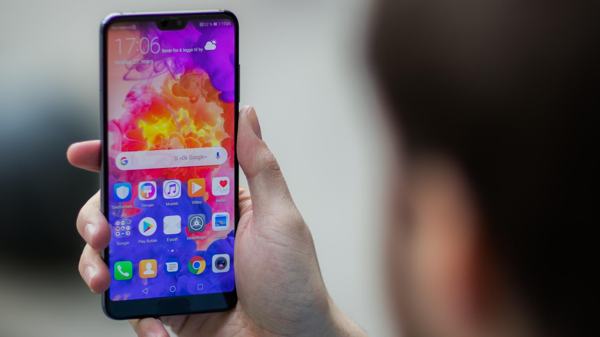 """Huawei: - Vi vurderte """"mobilhakk"""" lenge før iPhone X."""