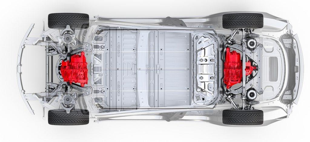 En Model 3 med AWD er på vei og kommer trolig i juli.