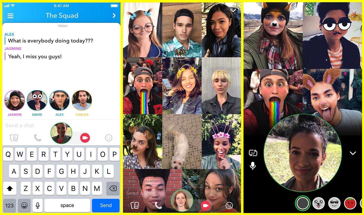 Snapchat oppdateres med stor nyhet.