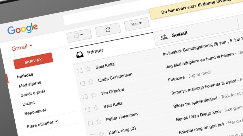 Gmail-brukere fikk plutselig en haug med søppelpost - fra dem selv.