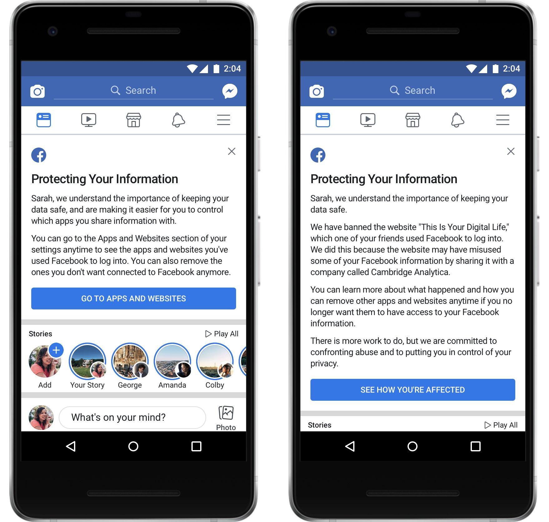 Klokka 18 får du beskjed fra Facebook - ble du misbrukt i personvern-skandalen?