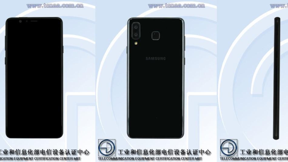 """Dette er en ny Galaxy S9 med """"iPhone X""""-design."""
